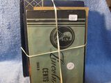 8 MISC. LINCOLN CENT BOOKS W/COINS