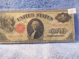 1917 $1. LARGE SIZE NOTE