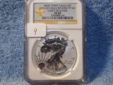 2013W SILVER EAGLE NGC PF69 REV. PROOF EARLY RELEASES