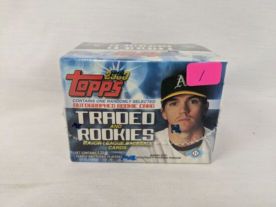 2000 Topps traded baseball sealed box (Cabrera Rookie)