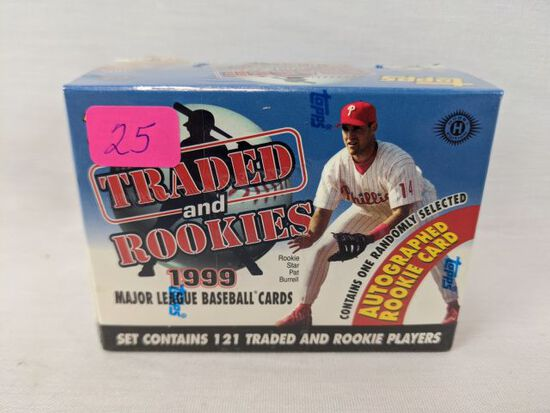 1999 Topps Traded and Rookie sealed box