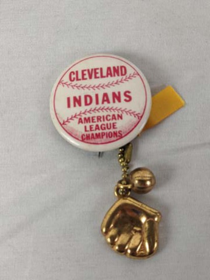 Cleveland Indians American League Champ pin 1950s?