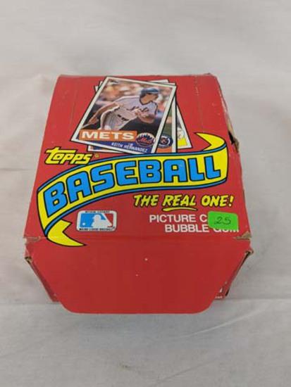 1985 Topps baseball box unopened