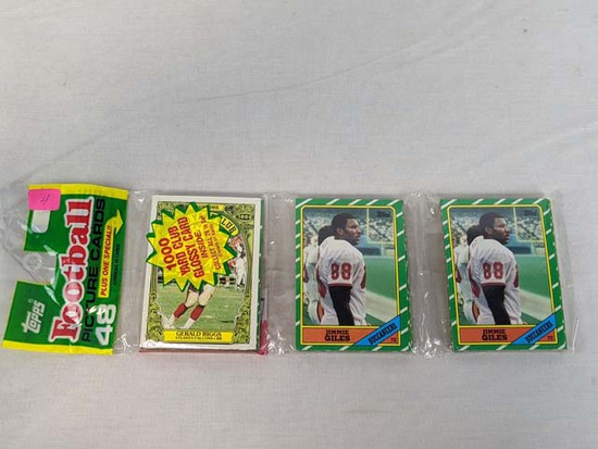 1986 Topps football Grocery pack