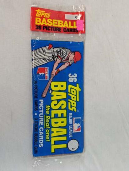 1981 Topps baseball Grocery pack
