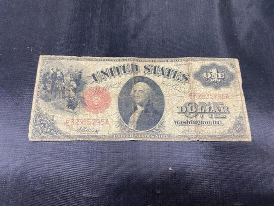 1917 LARGE $1.00 Silver Certificate