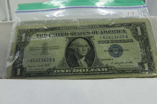 20-$1. SILVER CERTIFICATE STAR NOTES (NICE LOT)