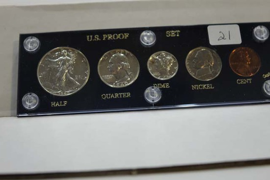 1940 U.S. PROOF SET IN HOLDER