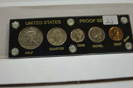1941 U.S. PROOF SET IN HOLDER