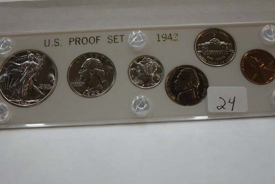 1942 U.S. PROOF SET IN HOLDER