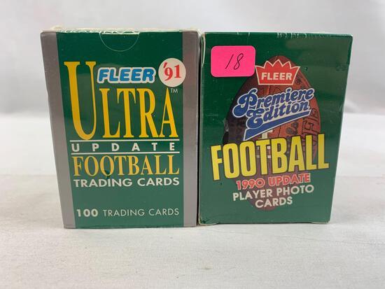 1990 & 1991 Fleer Ultra Update sets