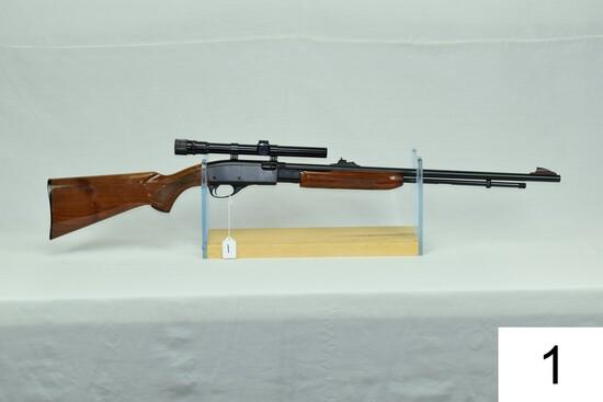 Remington    Mod 572    BDL Deluxe Fieldmaster    Cal .22 LR    SN: 1947892    W/Weaver V22-A 3-9x