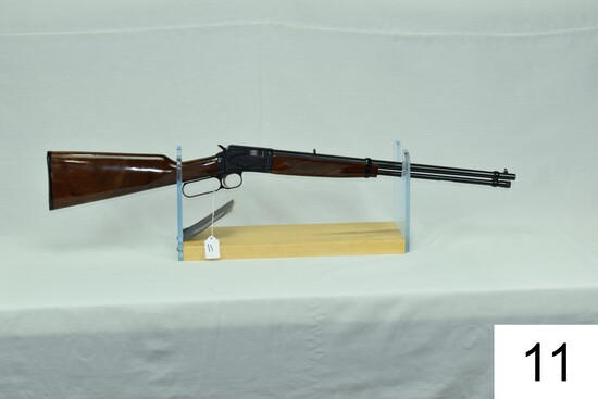 Browning    Mod BL22 Grade 2    Cal .22 LR    SN: 04810NT226    Condition: Like NIB
