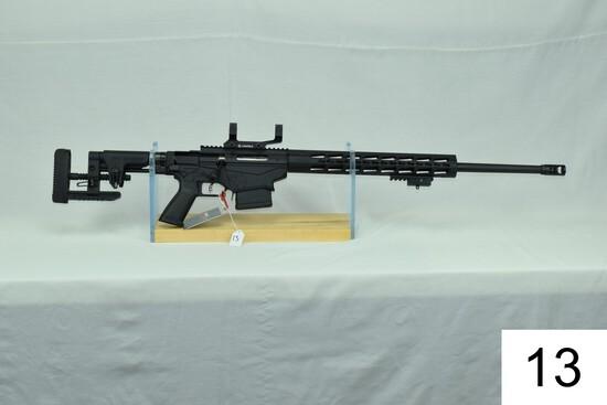 Ruger    Precision Rifle    Cal 6.5 Creedmoor    W/Leupold Scope Rings    SN: 180-303663    Conditio
