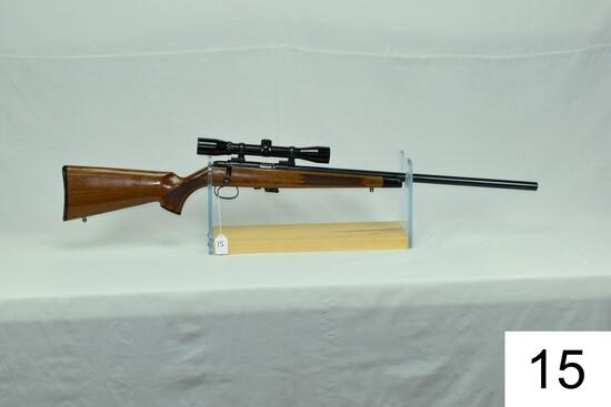 Remington    Mod 541-T    Heavy Barrel    Cal .22 LR    SN: A1104376    W/Bushnell Sportview Scope