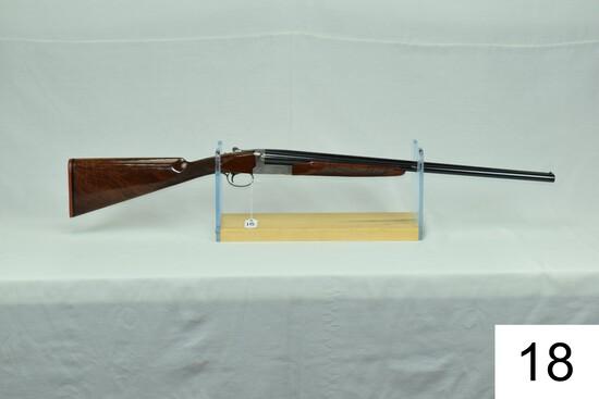 "Winchester    Mod 23    Pigeon Grade    Lightweight    20 GA    25½""    Imp Cyl/Mod    SN: PWK205867"