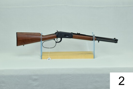 Winchester    Mod 94    Wrangler II    Large Loop    Cal .32 Win Spl    SN: 5091336    Condition: 95