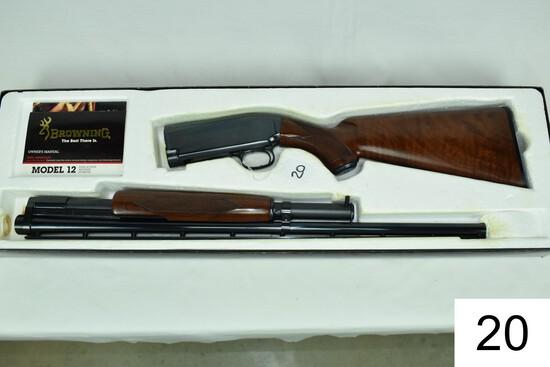 "Browning    Mod 12    Grade 1    28 GA    26""    Vent Rib    Mod    SN: 05015NM872    Condition: Lik"