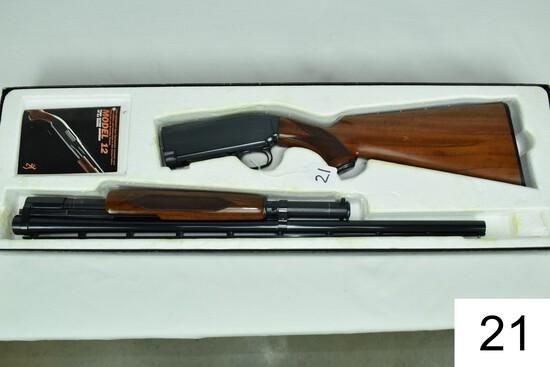 "Browning    Mod 12    20 GA    26"" Vent Rib    Mod    SN: 01922PN832    Condition: Like NIB"