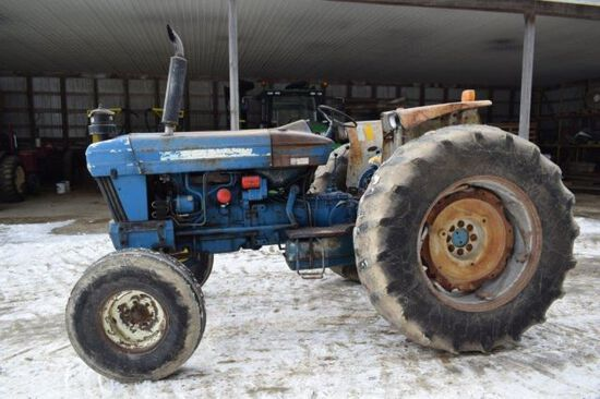 Ford 7610 tractor