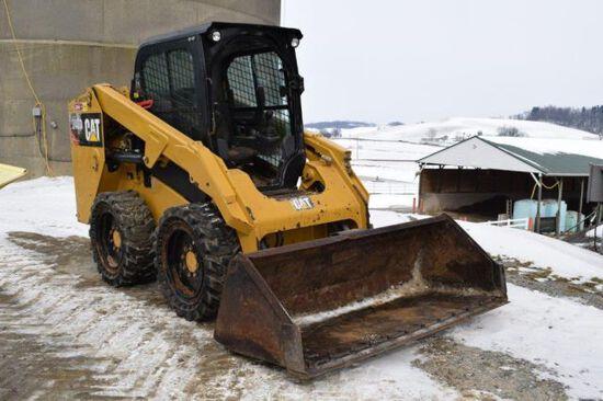 CAT 246D skid loader