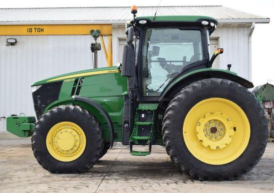 '15 JD 7250R tractor