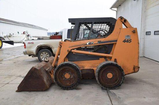 Case 445 skid loader
