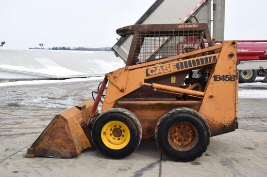 Case 1845B skid loader