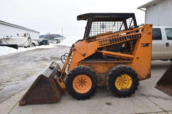 Case 1845 skid loader