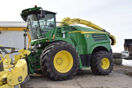 '17 JD 8700i Forage Harvester