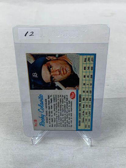1962 Post Cereal Box Cut Rocky Colavito