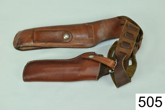 Lot of 2 Holsters    A: Bianchi    X2000    .45    B: Don Hume    H721    No. 36-1    Condition: Fai