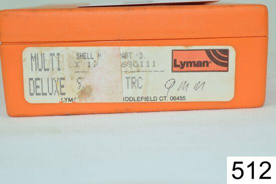 Lyman    3 Die Set    9mm Luger    Condition: Very Good