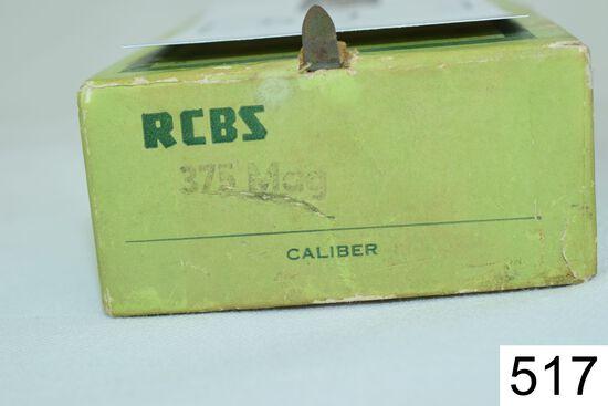RCBS    2 Die Set    .375 H&H Mag    Condition: Excellent