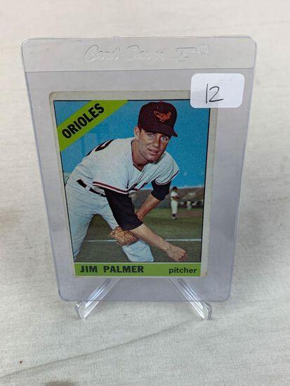 1966 Topps Jim Palmer #126 Rookie HOF VG
