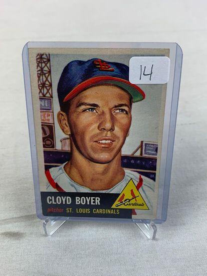 1953 Topps Cloyd Boyer #30 EX - Right Corner Holds It Back - Fresh