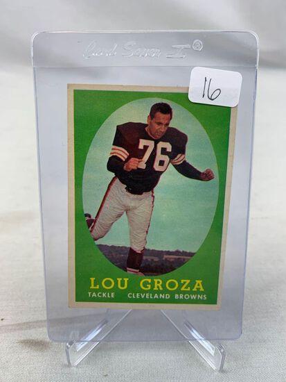 1958 Topps Lou Groza #52 EX-MT Nice Example