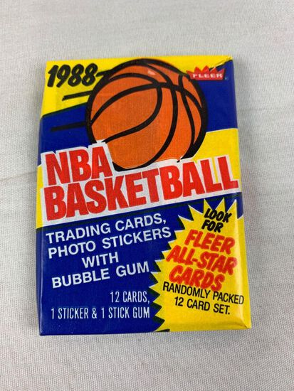 1988-89 Fleer Basketball Wax Pack - Super Hot and Tough To Find
