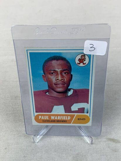 1968 Topps Paul Warfield #49 HOF NM-MT Centered and Fresh Would be Hard to Improve On