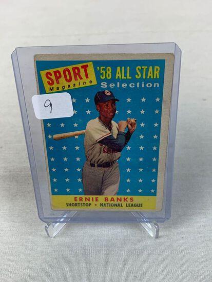 1959 Topps Ernie Banks #482 VG HOF