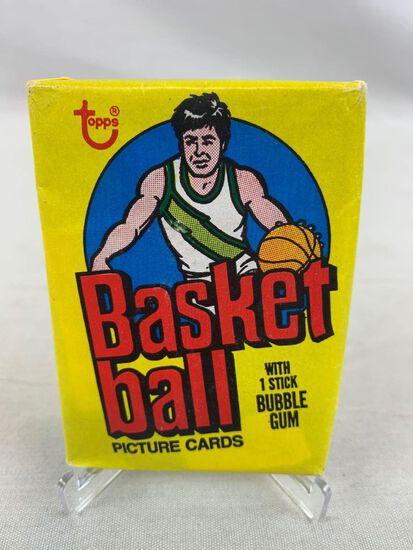 1978-79 Topps Unopened Basketball Pack