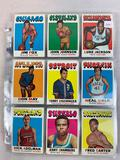 1971-72 Topps Basketball Cards - 127 different cards - EX Condition