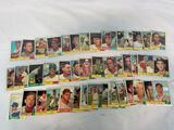 Forty-seven 1961 Topps Baseball Cards - Forty-seven different cards - VG - EX+ Condition