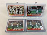 Four 1965 Topps Baseball World Series Cards - Two