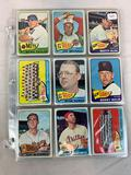 Eighty-four 1965 Topps Baseball High Number & Short Print Cards - Eighty-four different cards - VG-E