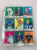 1969 Topps Football Partial Set including 122 different cards