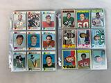 1972 Topps Football Partial Set including 144 cards & 1973 Topps Football Partial Set including 189