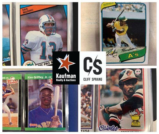 Sports Auction #11 - 300+ Complete Sets