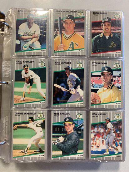 1989 Fleer Baseball Set