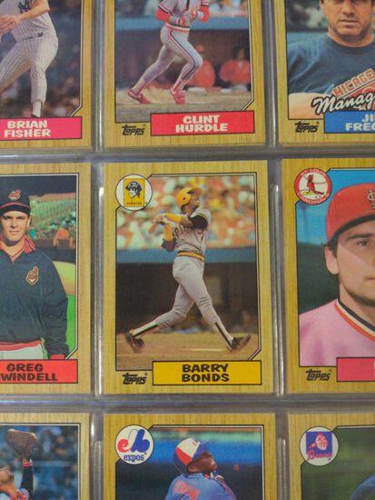 1987 Topps Baseball Set w/All Star Glossy Set
